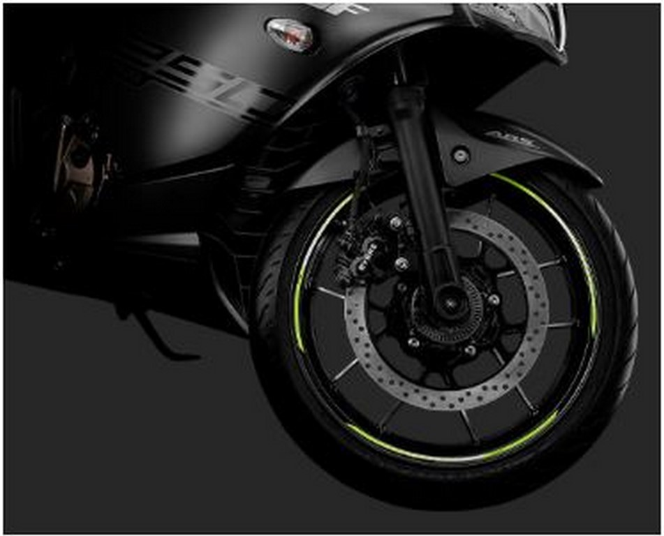 Suzuki Gixxer SF Wheel Rim Sticker