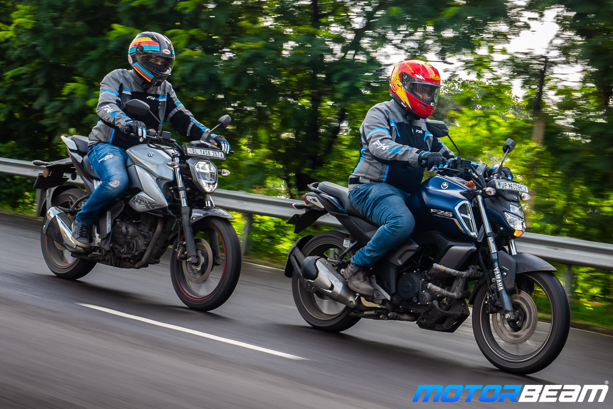 Suzuki Gixxer vs Yamaha FZ-S V3 Comparison Shootout