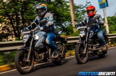 Suzuki Gixxer vs Yamaha FZ V3 Comparison Video