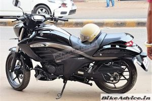 Suzuki Intruder 150cc Side Profile Spied