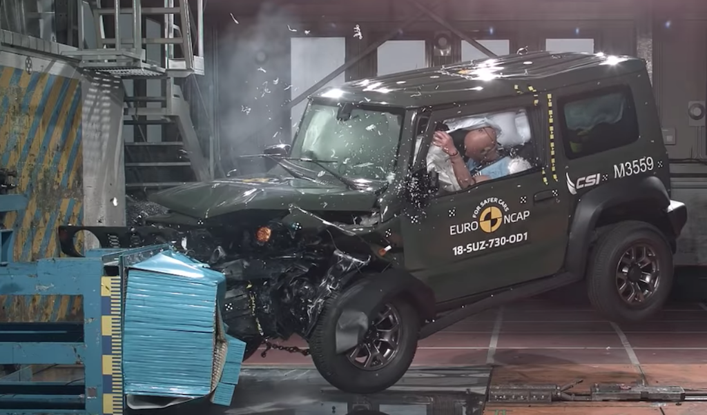 Suzuki Jimny Crash Test