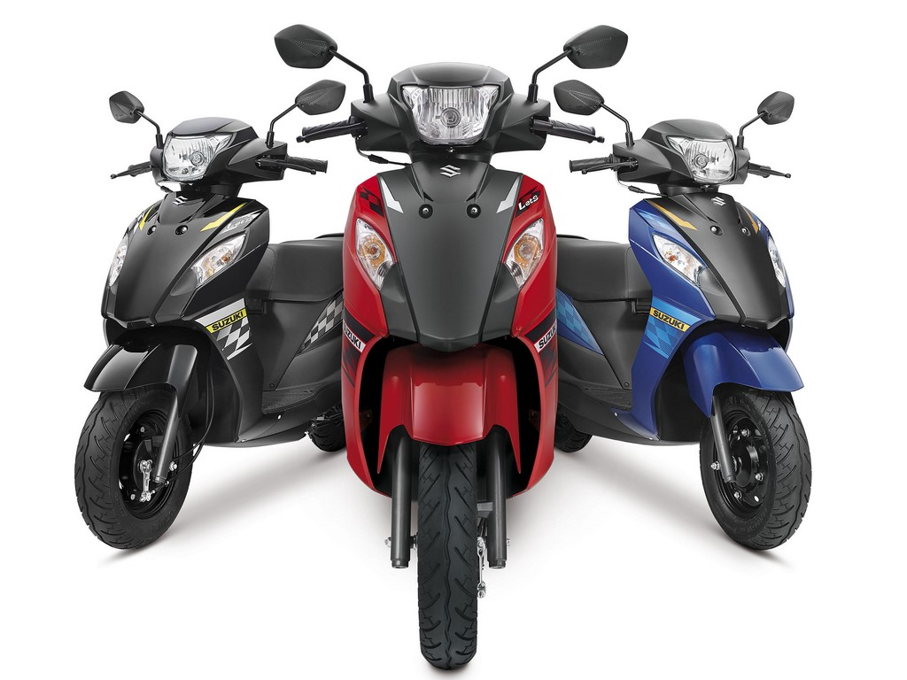 Suzuki Let's Dual Tone Colours