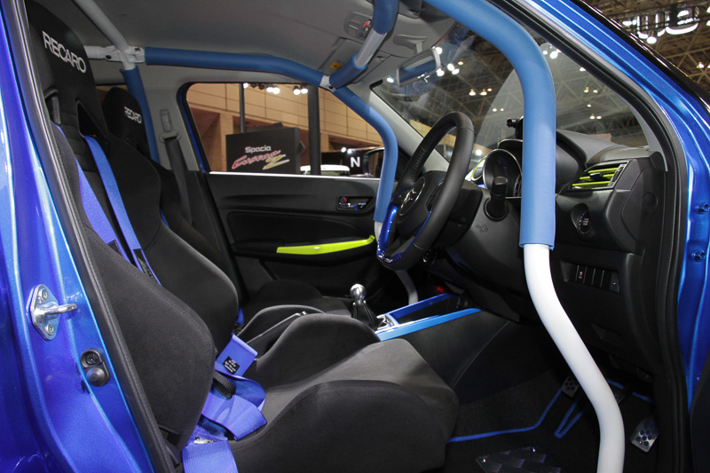 Suzuki Swift Racer RS Interior
