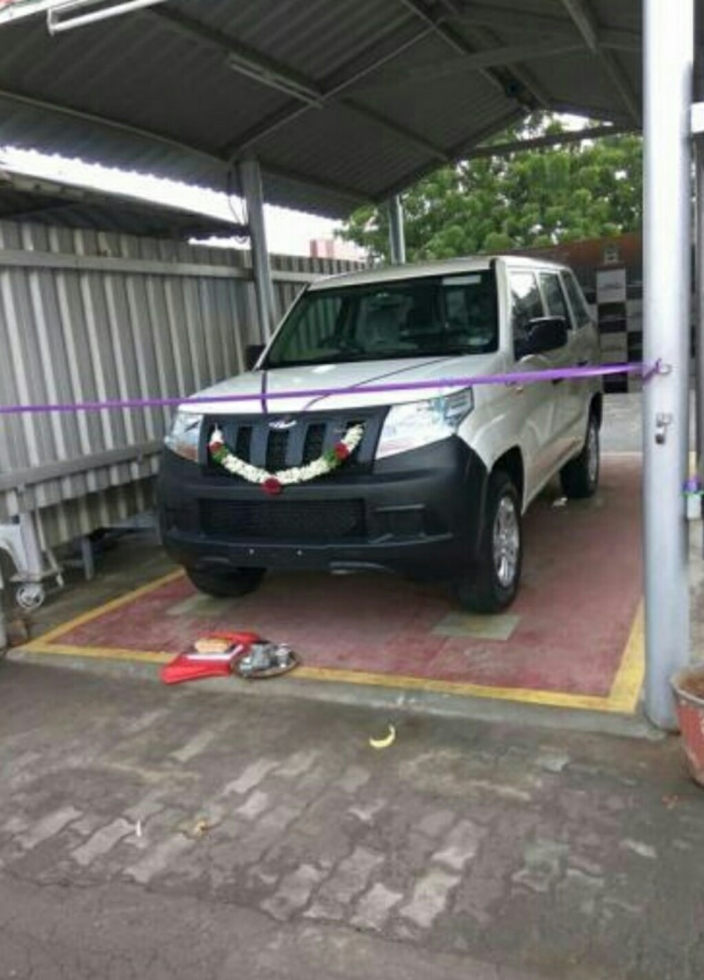 TUV300 Plus Delivered Before Launch