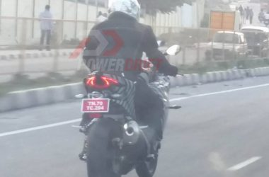 TVS Akula 310 Tail-Lights Look Gorgeous In New Spy Shots