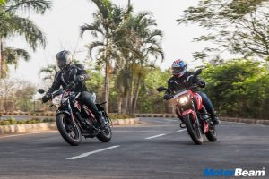 TVS Apache 160 4V vs Suzuki Gixxer SP Comparison Shootout