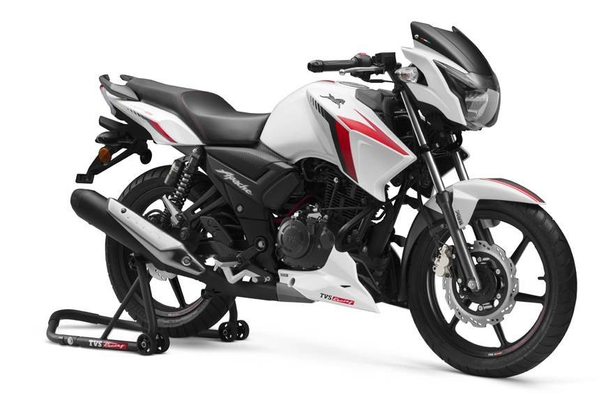 TVS Apache 160 2V BS6 Launched, Priced From Rs. 93,500/-