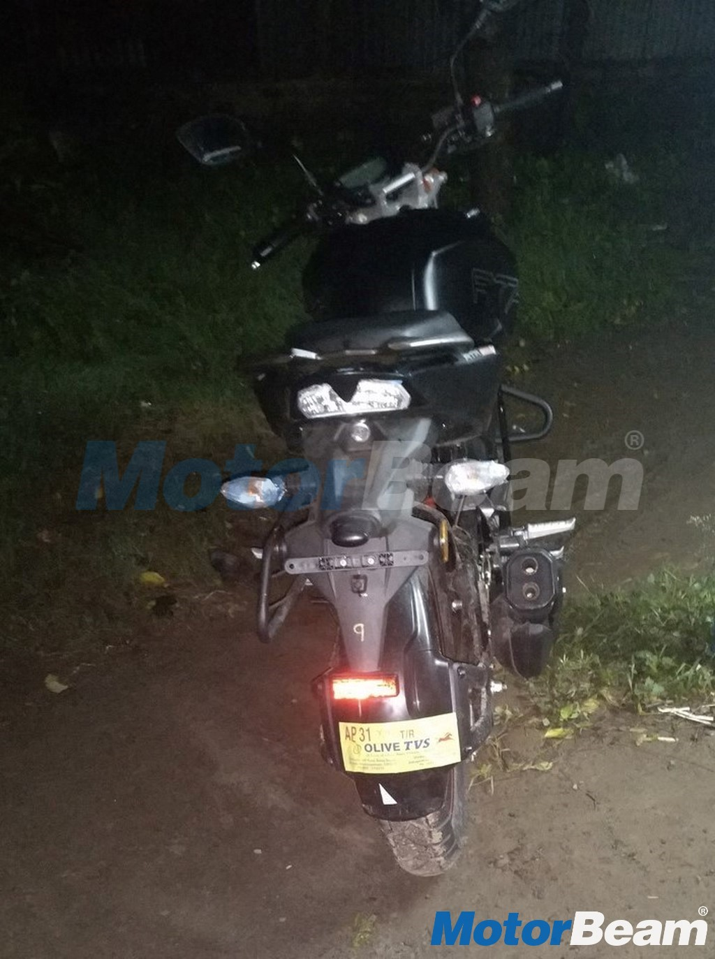 TVS Apache 160 Rear Spotted