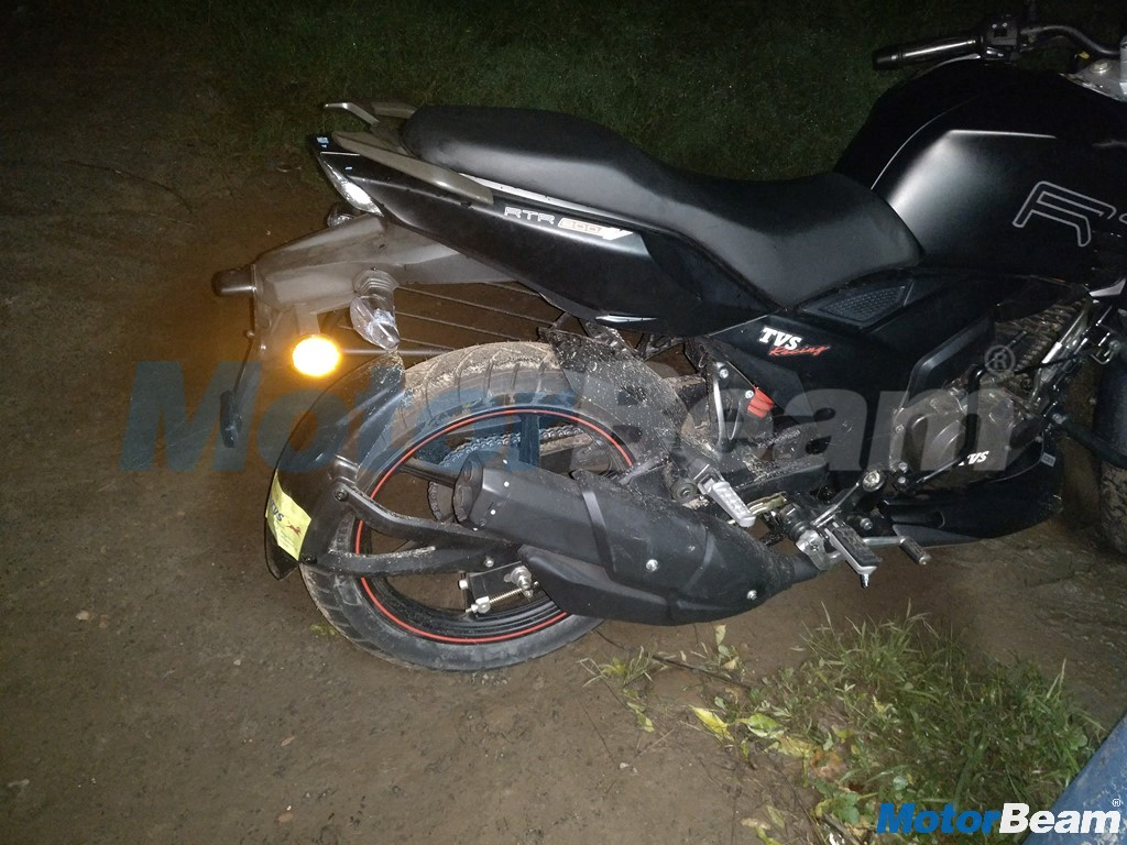 TVS Apache 160 Spotted In India