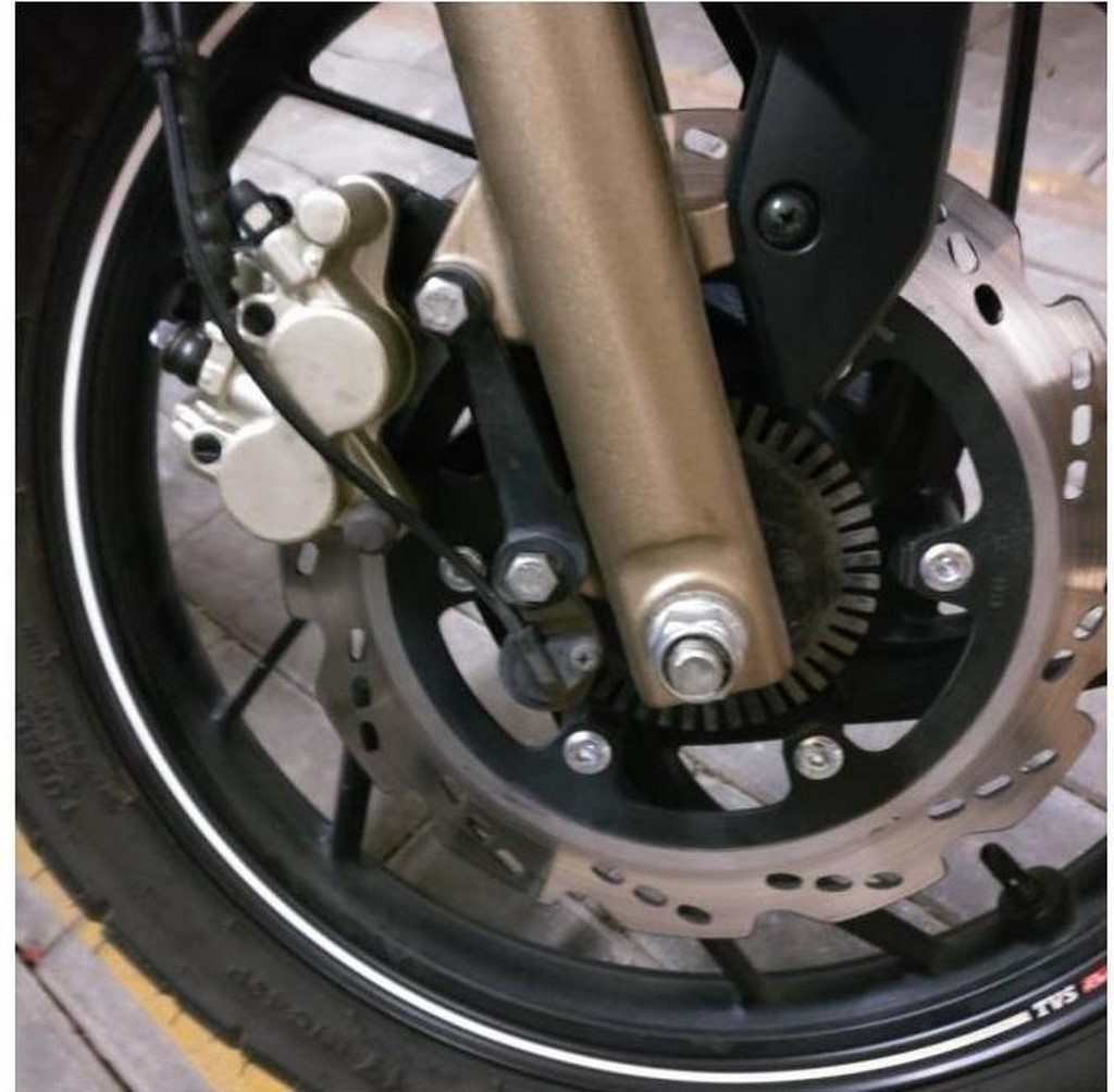 TVS Apache 200 Front Disc ABS