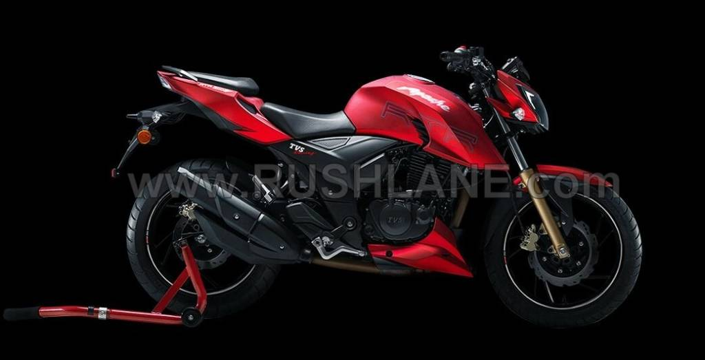 TVS Apache 200 Official