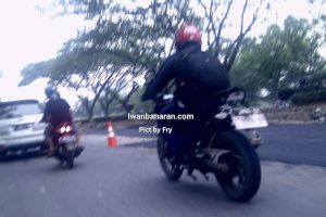TVS Apache 200 Spy Shot Indonesia