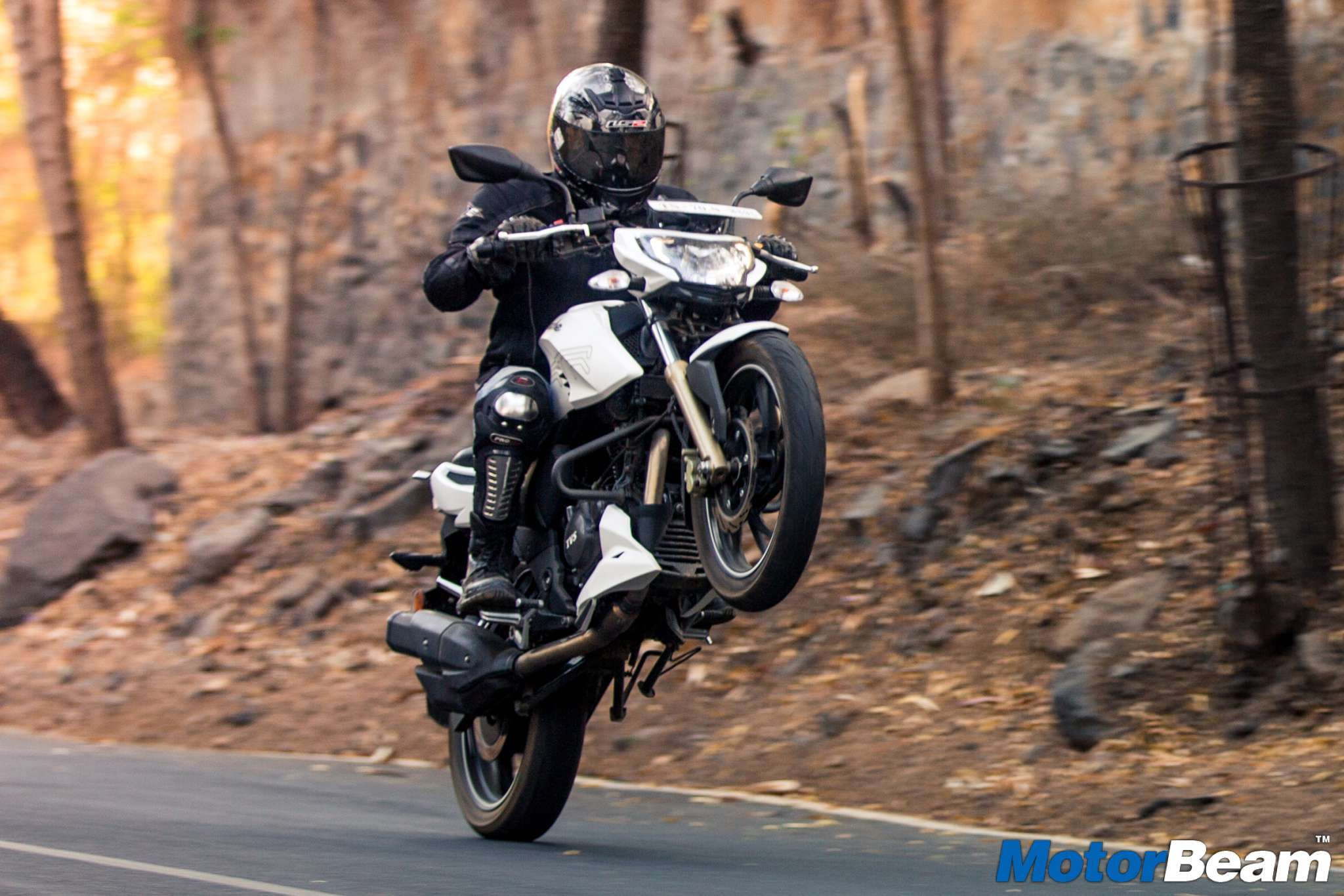TVS Apache 200 Test Ride