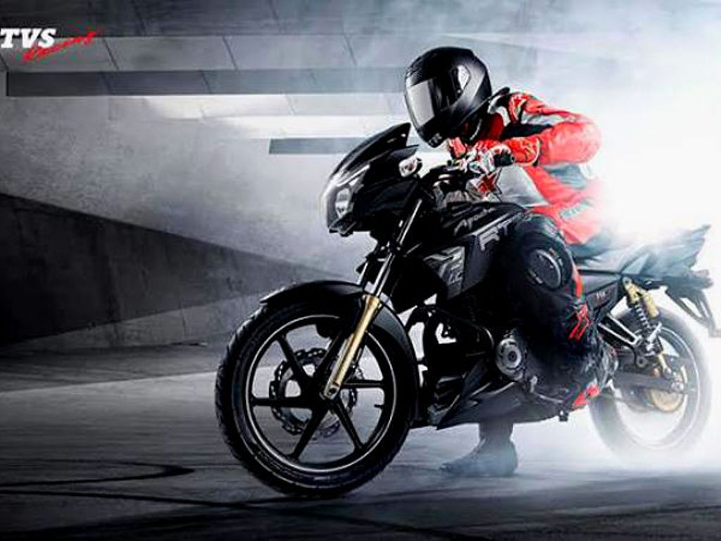 TVS Apache Matte Black Edition