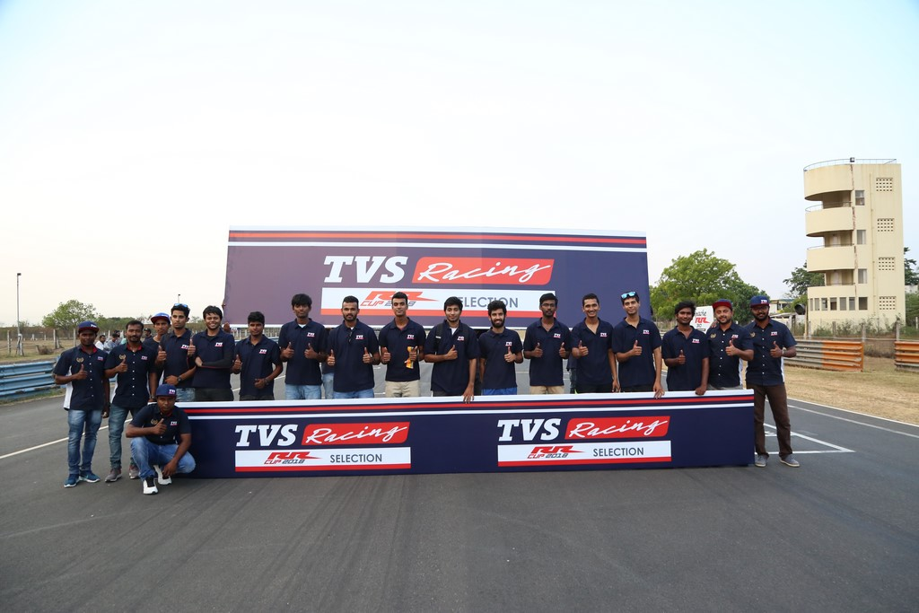TVS Apache One Make Series Participants