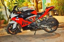 TVS Apache RR 310 BMW S1000RR Paint Job