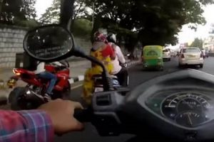 TVS Apache RR 310 Food Delivery Bike