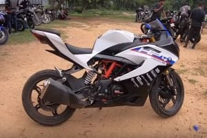 TVS Apache RR 310 Modified