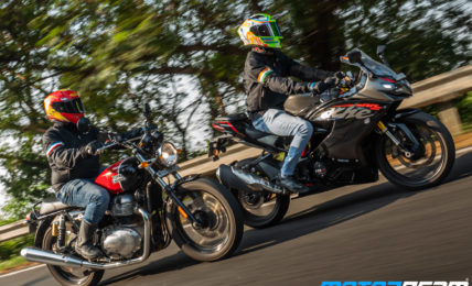 TVS Apache RR 310 Vs RE Interceptor 650
