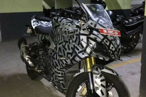 TVS Apache RR 310S Front Spotted