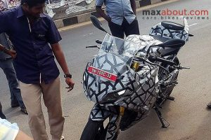 TVS Apache RR 310S Front Three Quarter
