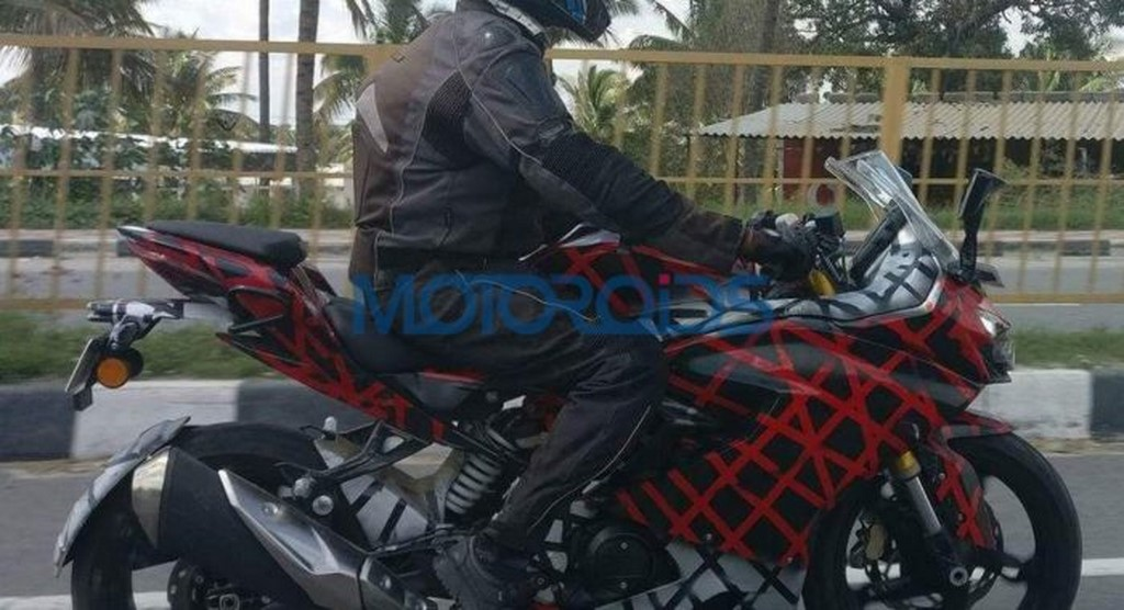 TVS Apache RR 310S Spotted