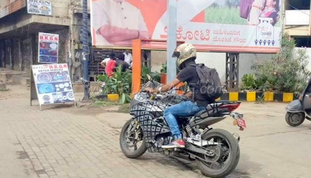 TVS Apache RR 310S Spotted Testing In Bangalore