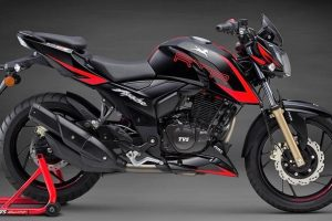 All New TVS Apache RTR Spy Pictures