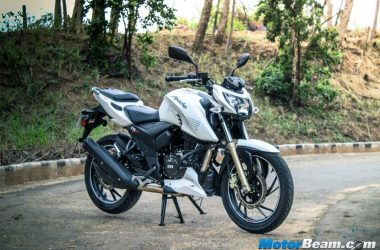 TVS To Focus On Apache RTR Brand, More Variants En Route