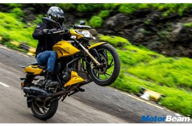 TVS Apache 200 FI Launched FINALLY, Priced At Rs. 1.07 Lakhs