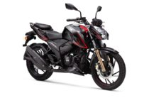 TVS Apache RTR 200 4V with Super-Moto ABS 2.