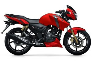 TVS Apachte RTR 160 Red