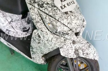 TVS Jupiter 125 With FI Spotted