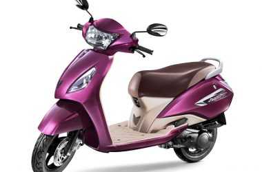 TVS Jupiter MillionR Edition With Front Disc Launched