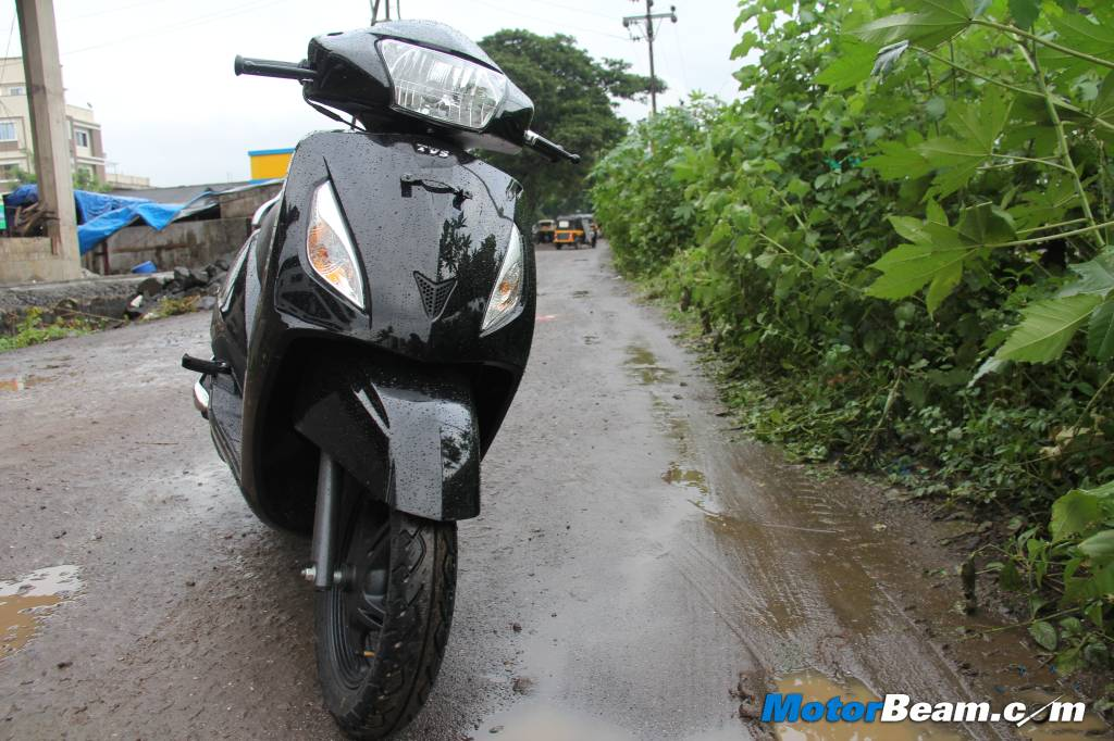 TVS Jupiter Scooter Road Test