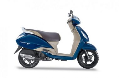 TVS Jupiter ZX Starlight Blue