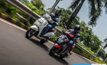 TVS NTorq 125 vs Suzuki Access 125 Comparison Review 16