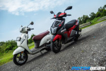 TVS NTorq 125 vs Suzuki Access 125 Comparison Review 3