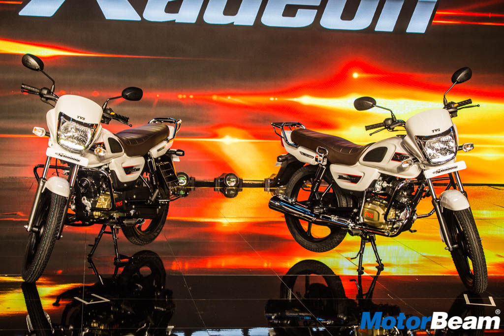 Tvs Radeon Price Is Rs 48400 Motorbeamcom