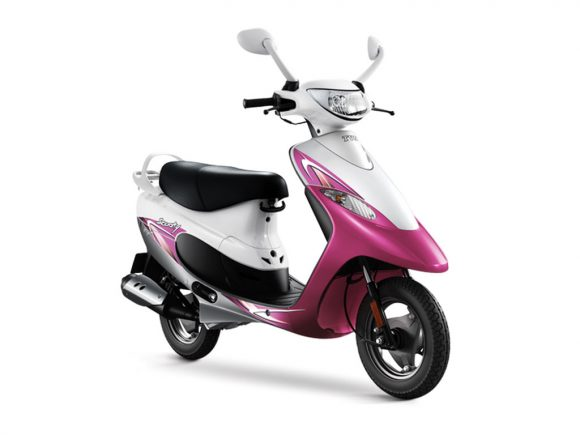 TVS Scooty Pep Plus Perry Pink Review