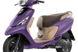TVS Scooty Zest 110 Matte Purple Launched