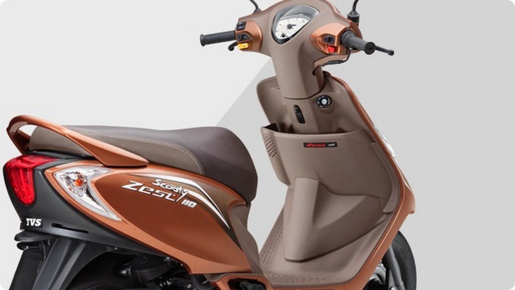 TVS Scooty Zest Himalayan Highs Launched