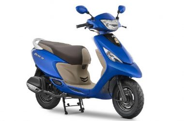 2017 TVS Scooty Zest 110 Launched With New Matte Colours
