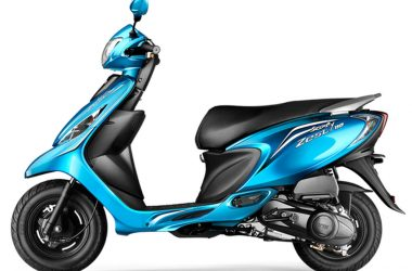 TVS Scooty Zest Loses its Scooty Tag & Retains Its Zest!