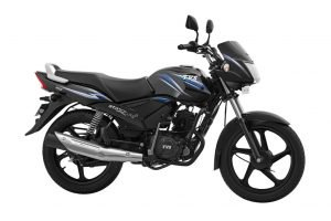 TVS Star City Plus Black Blue