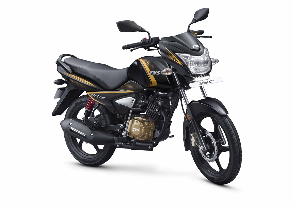TVS Victor Premium Edition Front And Side