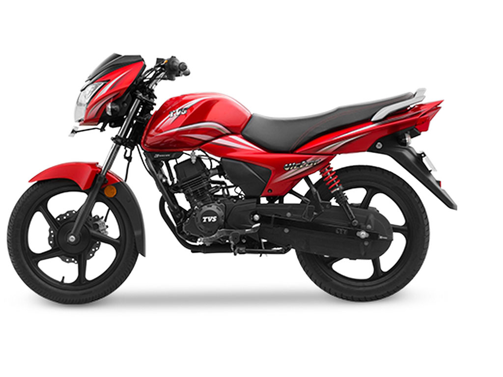 TVS Victor Red Price