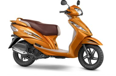 2017 TVS Wego BS-IV Launched, Gets 2 New Colours