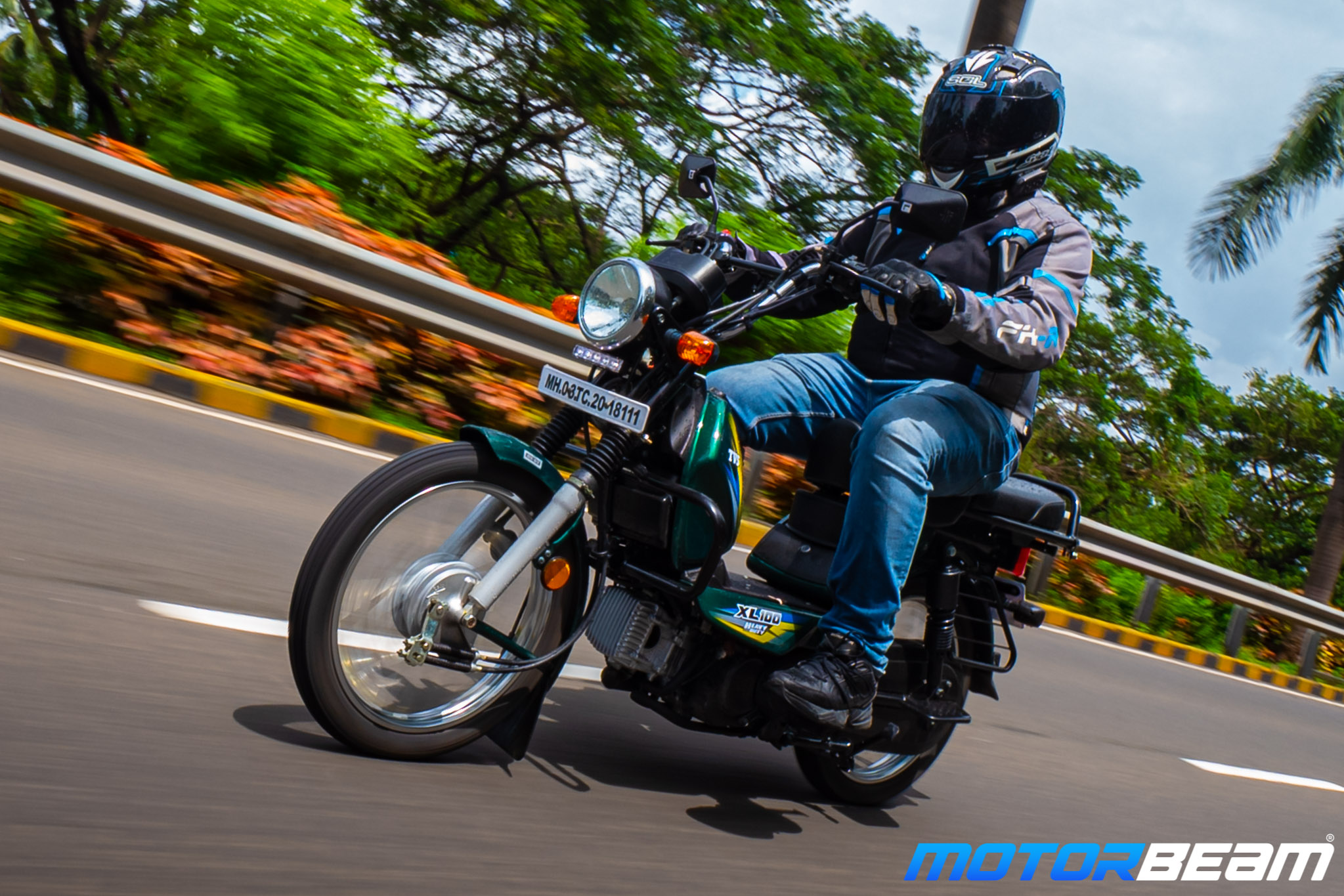 TVS XL 100 Heavy Duty Review 1