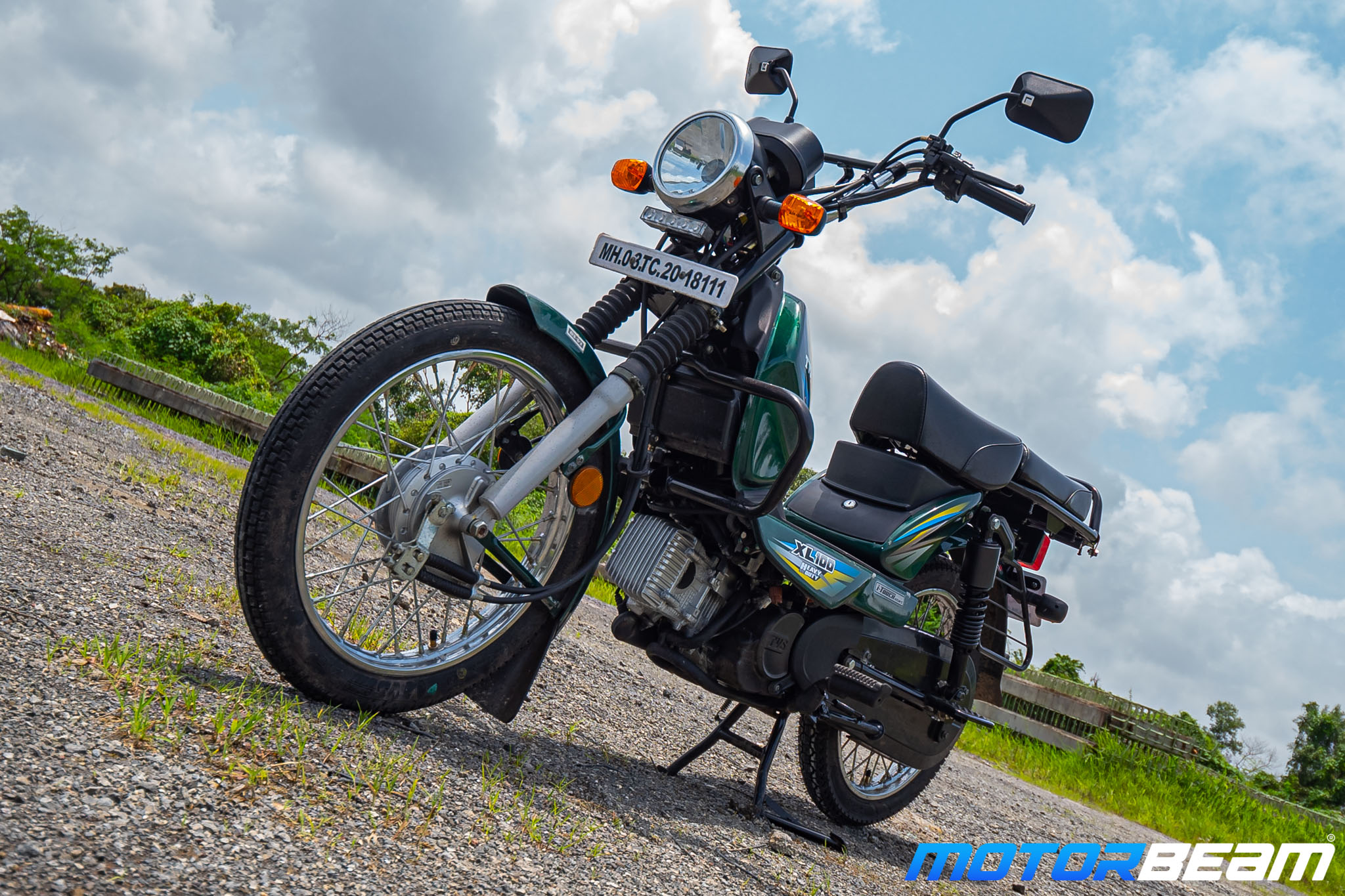 TVS XL 100 Heavy Duty Review 22